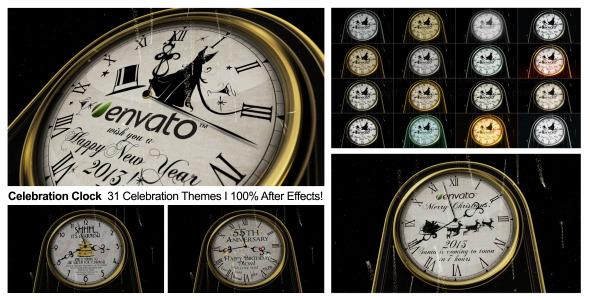 VideoHive Celebration Clock 3451513