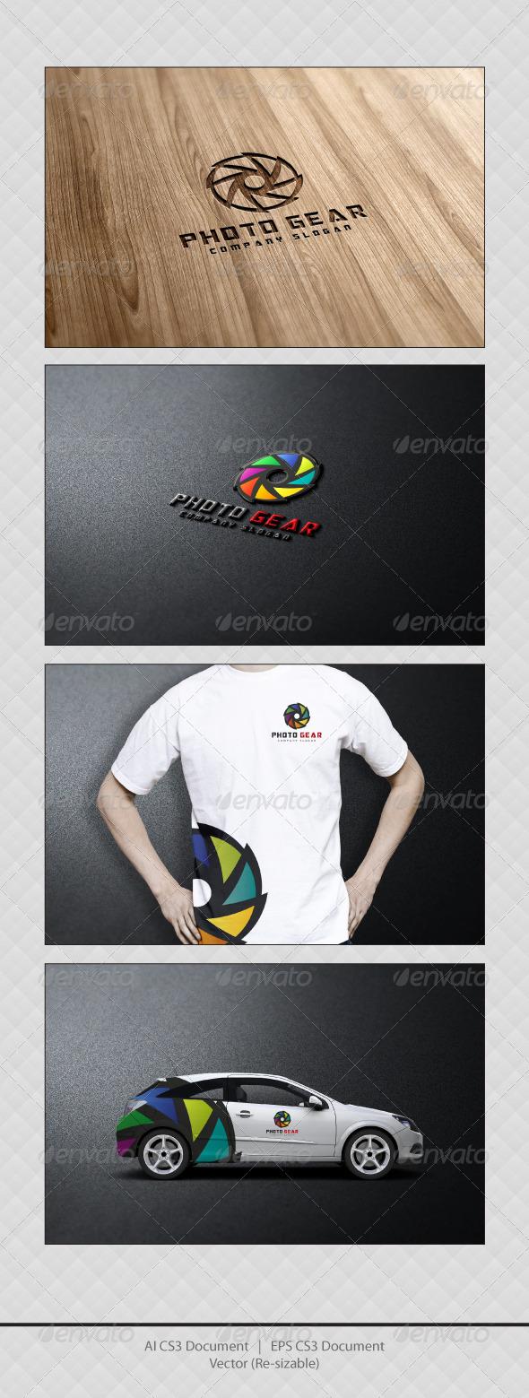 GraphicRiver Photo Gear Logo Templates 3451977