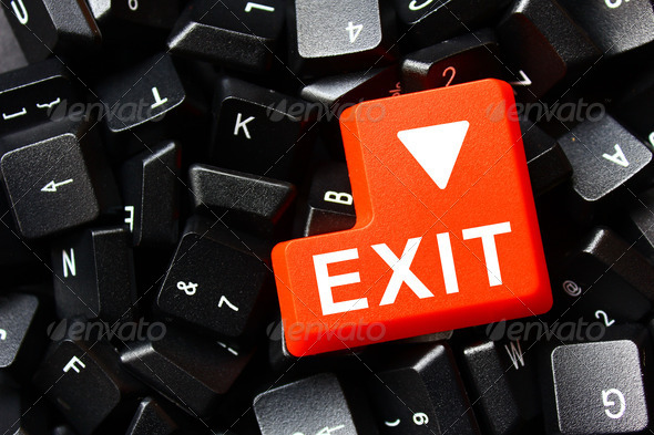 Exit - Stock Photo - Images