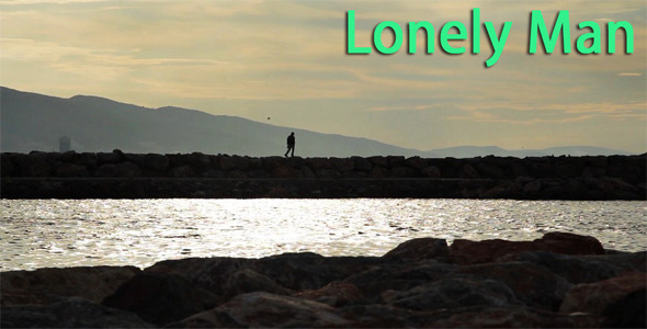 Lonely Man Silhouette