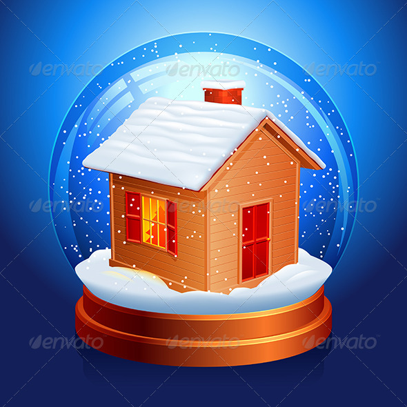 GraphicRiver Snow Globe 3452406