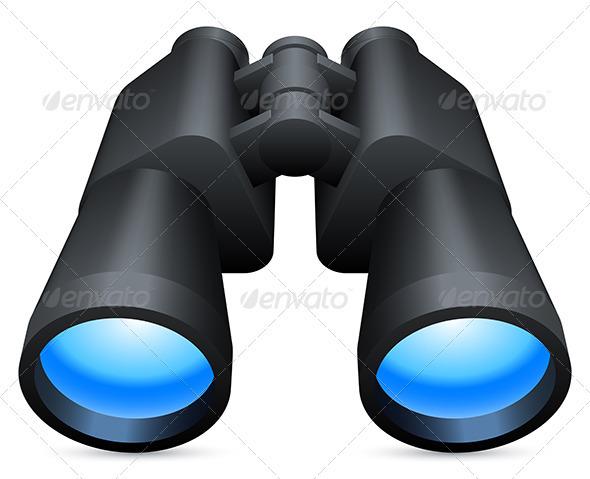 GraphicRiver Binoculars 3452425