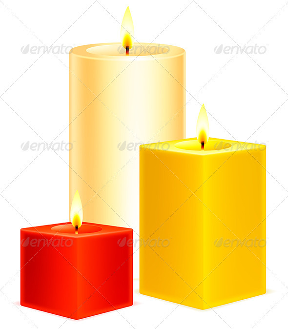 GraphicRiver Candles 3452428