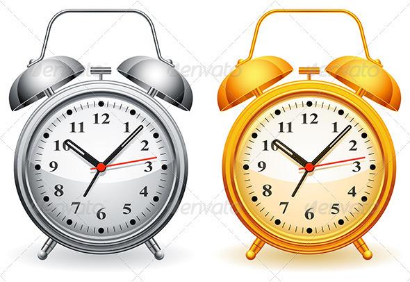 GraphicRiver Alarm Clock 3452474
