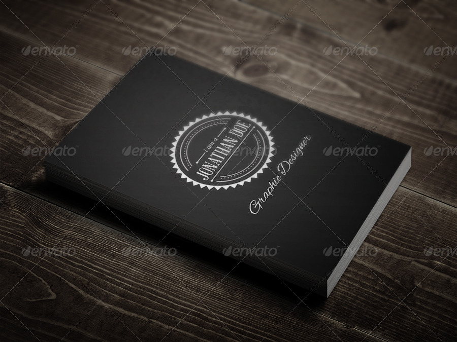 Retro Business Card