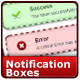 14 CSS Notification Boxes - CodeCanyon Item for Sale