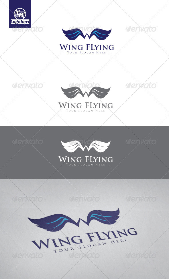 GraphicRiver Wing Flying Logo Template 3452951