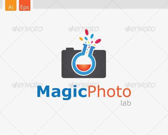 GraphicRiver MagicPhoto Lab Logo Design 3453649