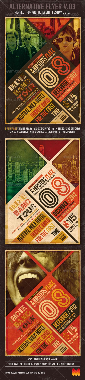 GraphicRiver Alternative Flyer Poster V03 3453997