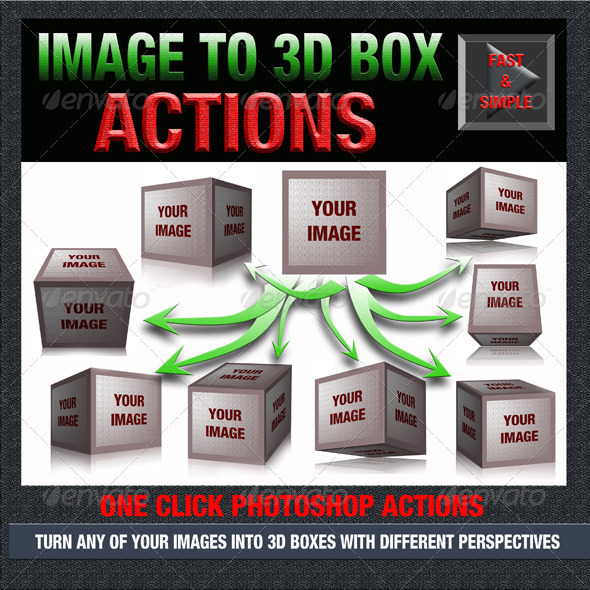 GraphicRiver Image to 3D Box 3423900