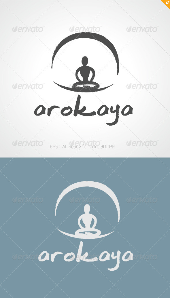 GraphicRiver Arocaya Wellness and Spa Logo 3454399