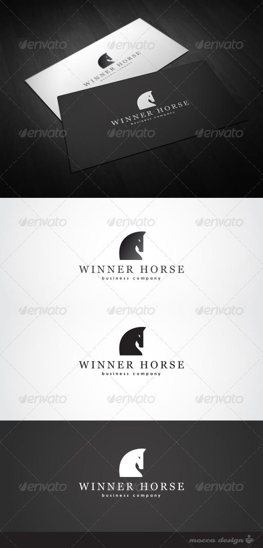 GraphicRiver Winner Horse Logo 3454453