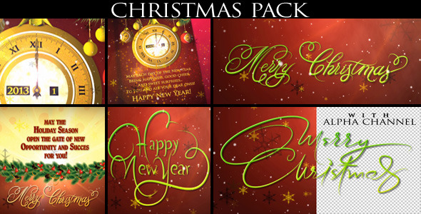VideoHive Christmas Pack 3454638