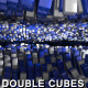 Cubes Ocean Flow - Double Ocean - VideoHive Item for Sale