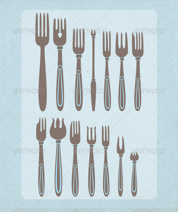GraphicRiver Types Forks 3455215
