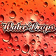 12 Water Drops + Backgrounds - GraphicRiver Item for Sale