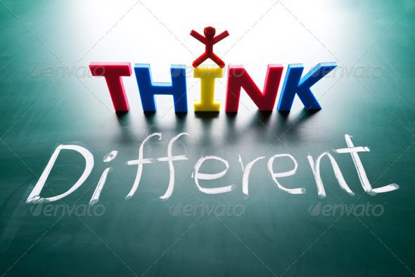I think different concept - Stock Photo - Images