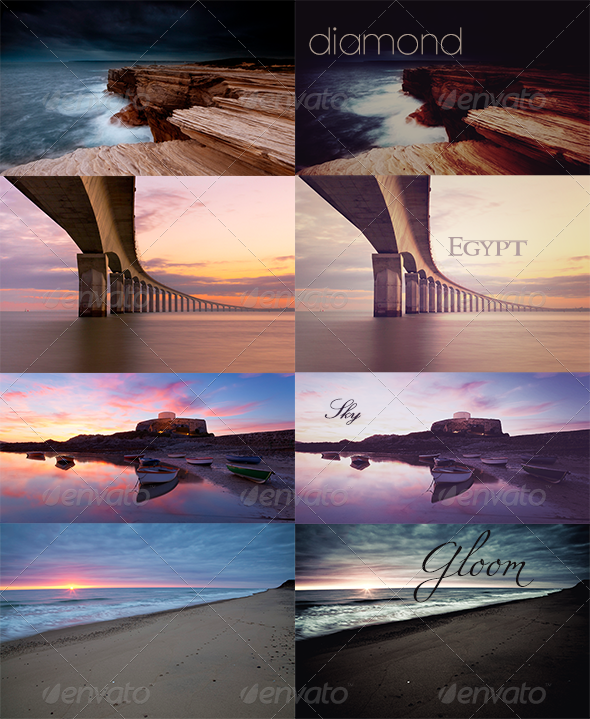 GraphicRiver Snapped Photoshop Actions Photo Effects 3456428