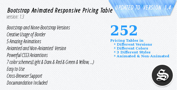 Responsive Pricing Table - Pure CSS - CodeCanyon Item for Sale