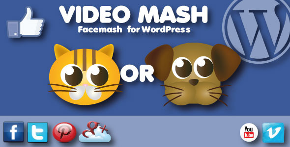CodeCanyon Video Mash Facemash for WordPress 3456945