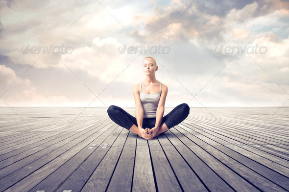 Yoga - Stock Photo - Images