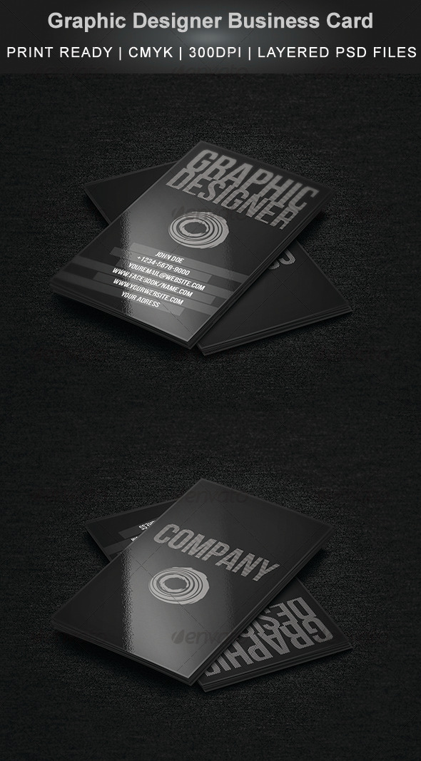GraphicRiver Graphic Designer Business Card 1 3457200