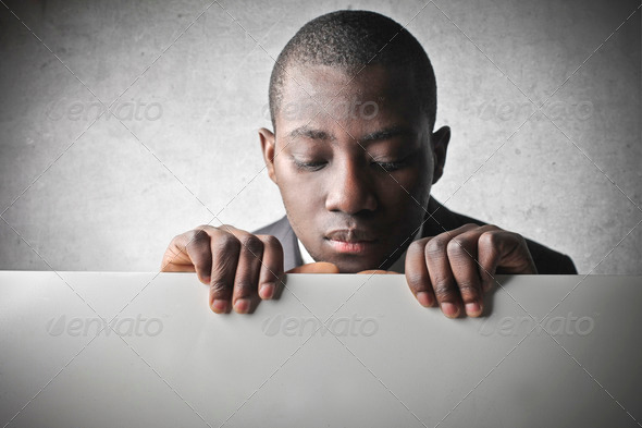 Black Man - Stock Photo - Images