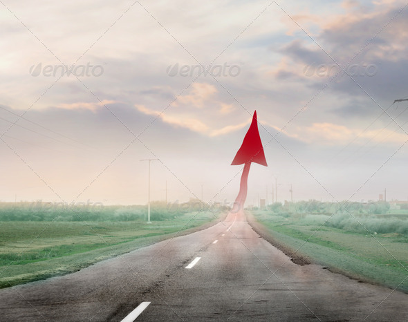 Success Way - Stock Photo - Images