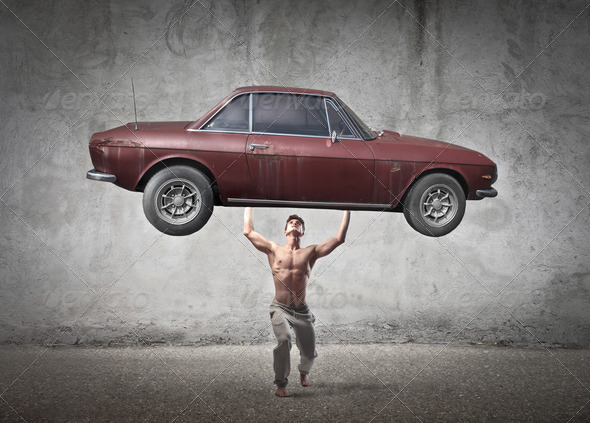 Super Strength - Stock Photo - Images