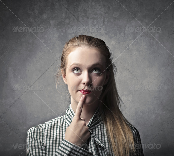 Thinking - Stock Photo - Images