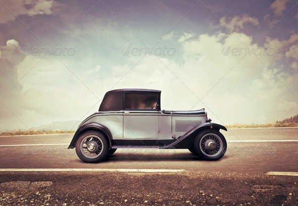 Vintage Car - Stock Photo - Images