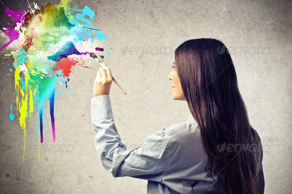 Painting - Stock Photo - Images