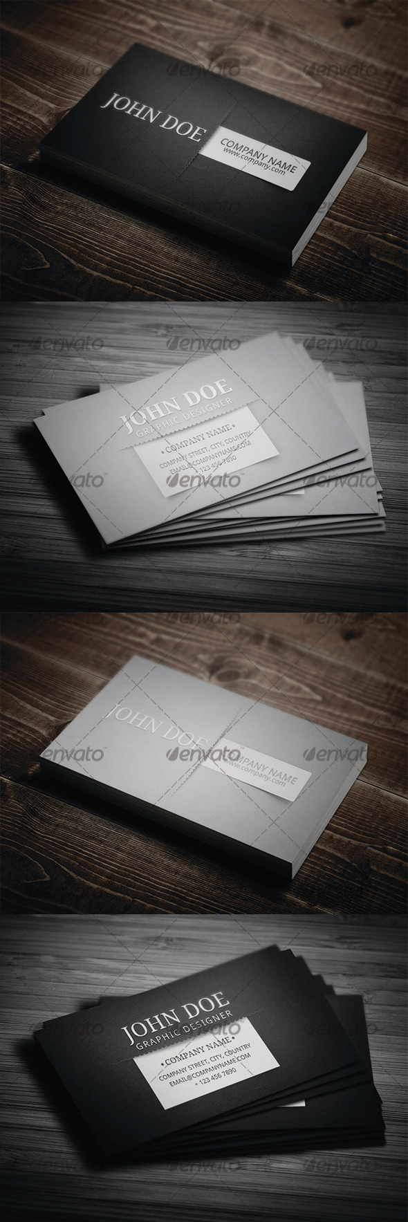 GraphicRiver Corporate Business Card N3 3424847