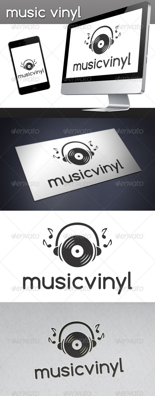 GraphicRiver Music Vinyl Logo 3413919