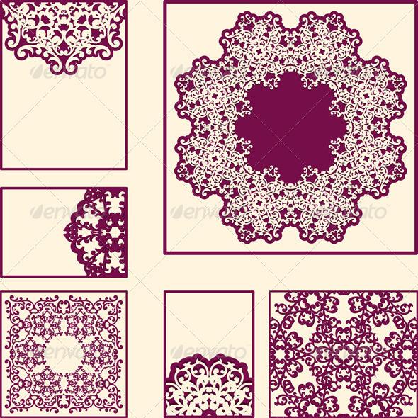 GraphicRiver Vector Vintage Cards 3436787