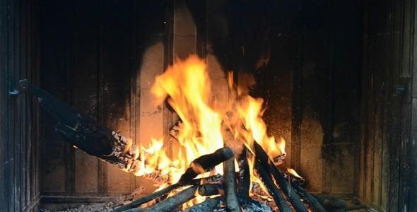 Fire In A Brazier
