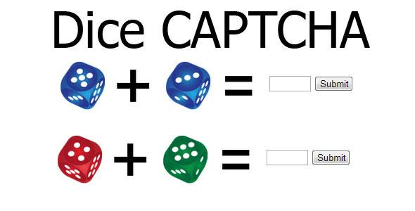 CodeCanyon Dice Captcha 3407388