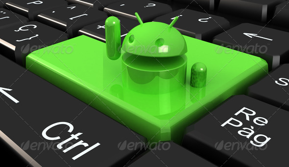 Android Keyboard - Stock Photo - Images