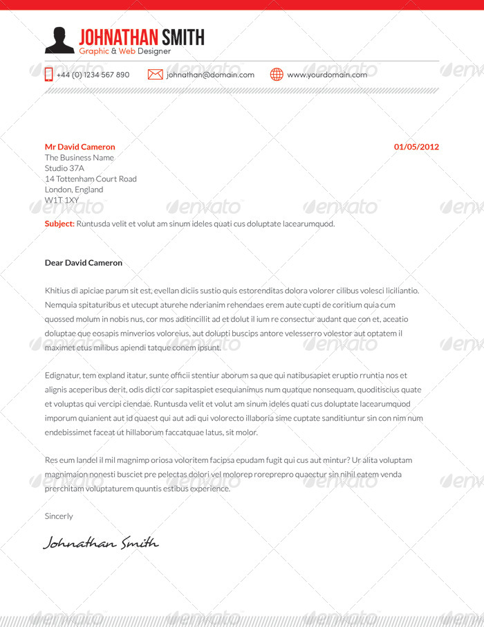resume cv cover letter set 01 by boxedcreative