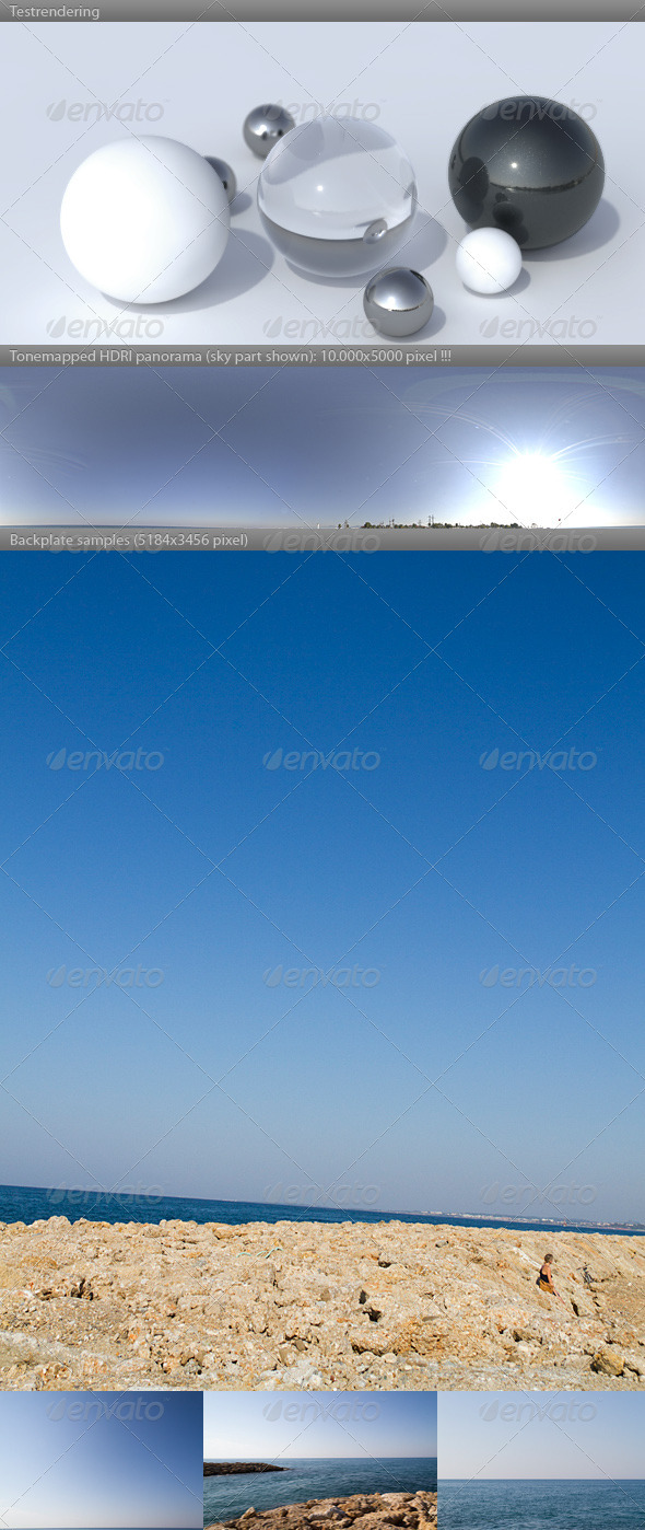 3DOcean HDRI spherical panorama 0921- summer morning 741677
