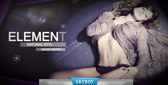 VideoHive Fashion Model Slide 3460498