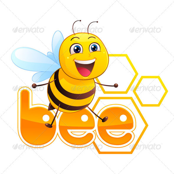 GraphicRiver Bee Mascot 3461736