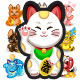 Download Vector Maneki Neko Fortune Cat Collection