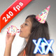 Girl Birthday Celebration 240fps - VideoHive Item for Sale