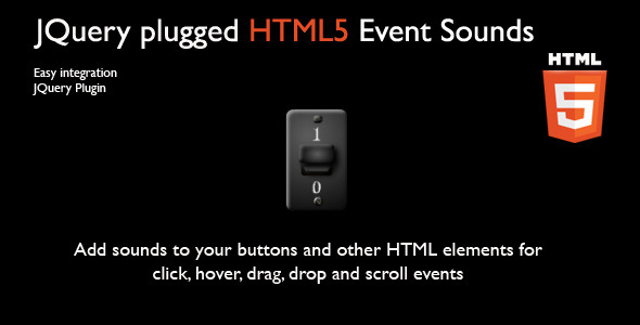 JQuery plugged HTML5 Event Sounds - CodeCanyon Item for Sale