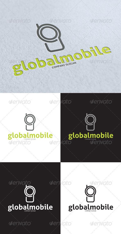 GraphicRiver Global Mobile Logo 3462318