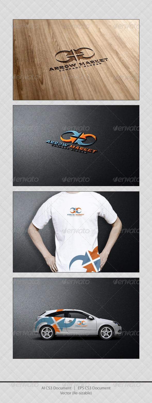 GraphicRiver Arrow Market Logo Templates 3462509