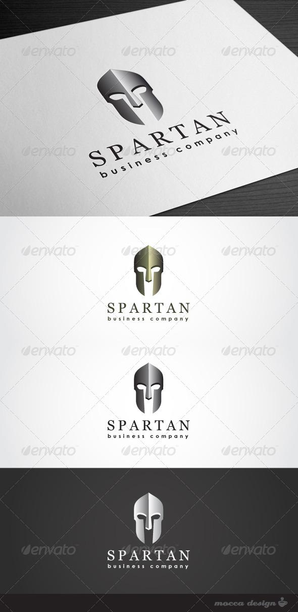 GraphicRiver Spartan Logo 3463321