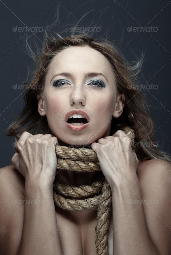 Victim - Stock Photo - Images