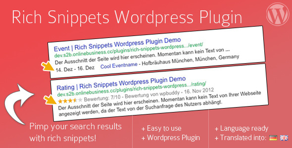 Rich Snippets WordPress Plugin - CodeCanyon Item for Sale